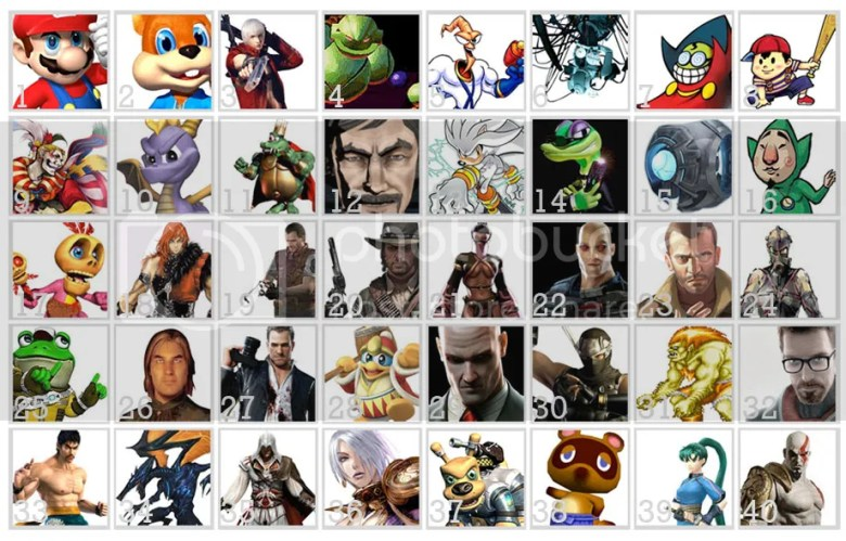 40 Video Game Characters by Picture Quiz - By HarryJohnson