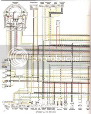 Sv 650 Wiring Diagram   Wiring Library