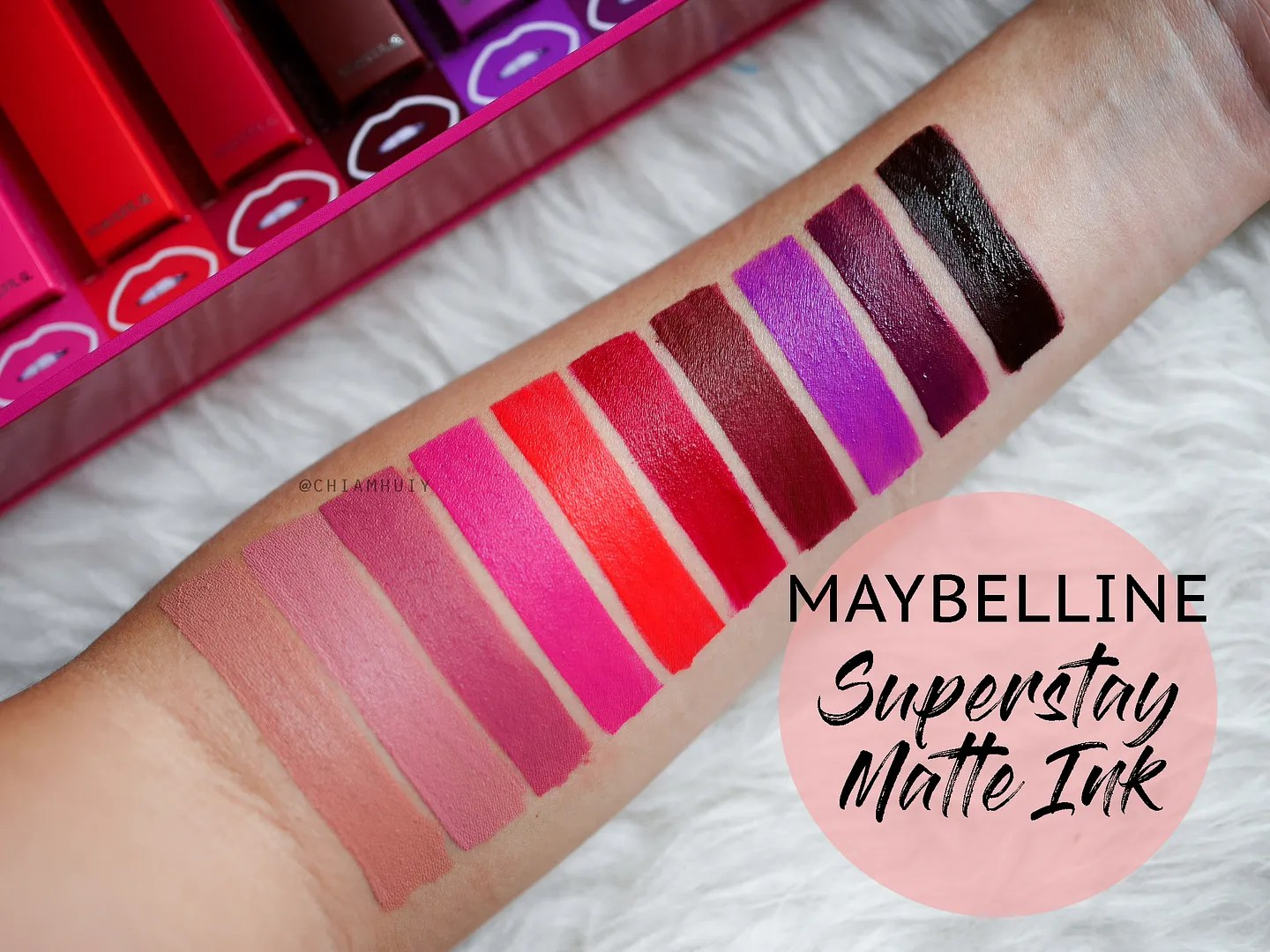 Superstay Matte Ink Liquid Lipstick by Maybelline #9