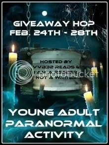 YA Paranormal Activity Hop (1/5)