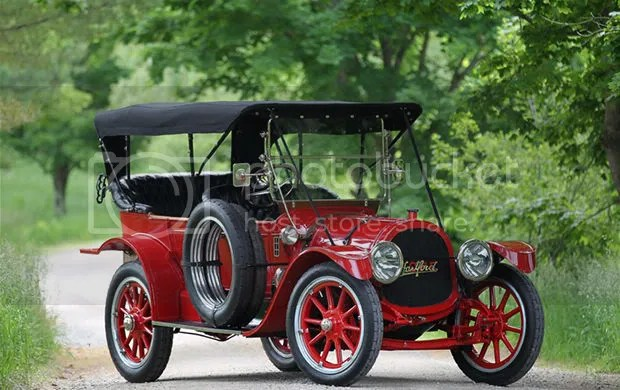 1913 Pope-Hartford Model 33 Four-Passenger Touring Phaeton