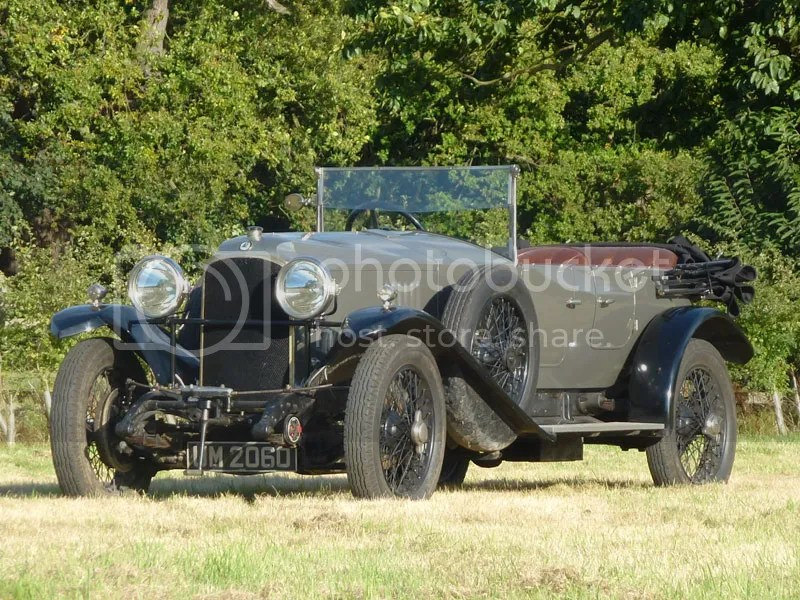 1925 Vauxhall 30/98 OE-Type Tourer