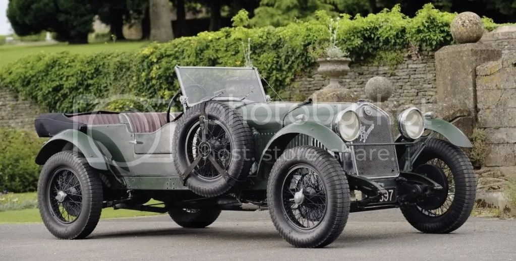 1929 Alfa Romeo 1750 SS Competition Tourer Coachwork by Carlton Carriage Company