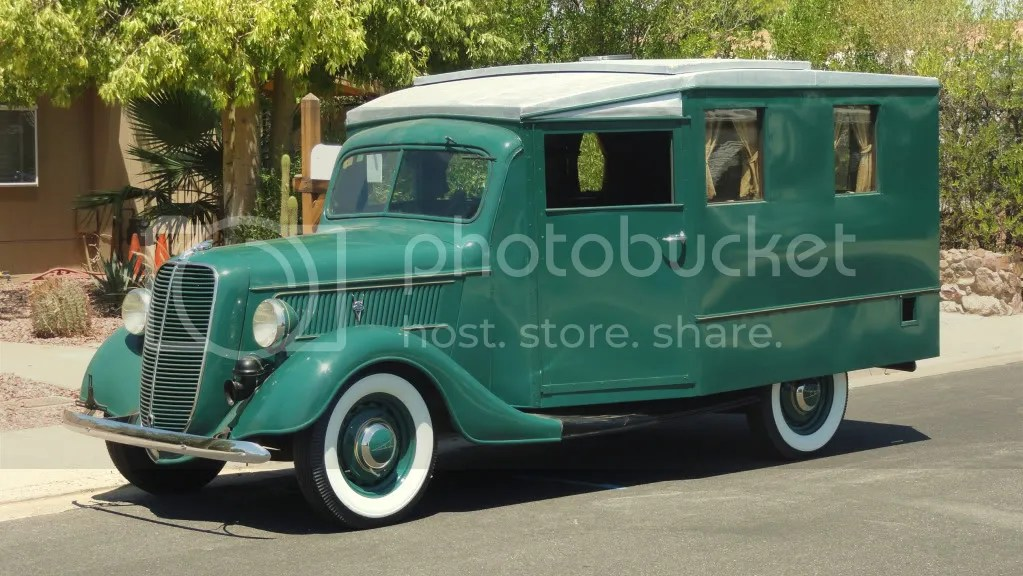 1937 Ford Housecar