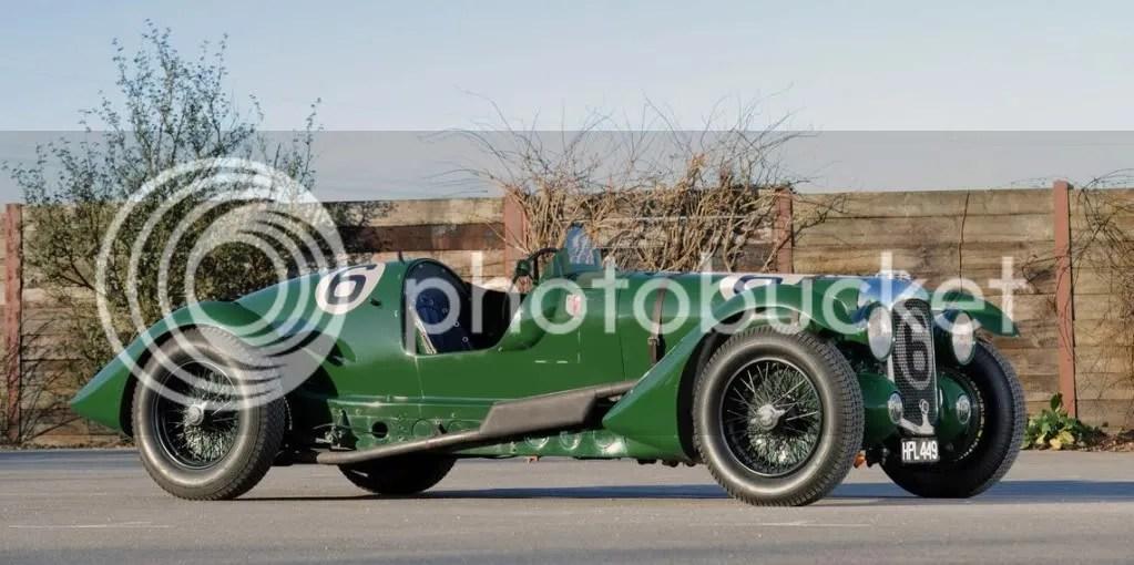 1939 Lagonda V12 Le Mans Team Car
