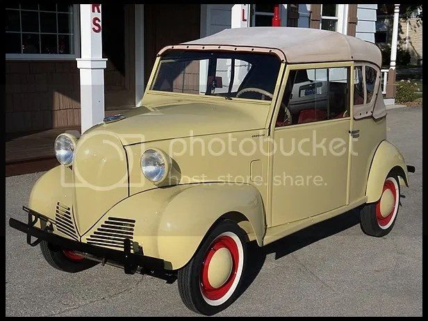 1942 Crosley Victory Sedan Convertible