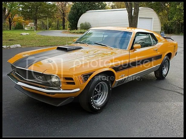 1970 Ford Mustang Mach I Twister Edition