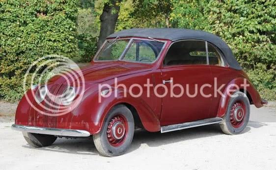 1939 Adler 2.5-Litre Convertible by Karmann