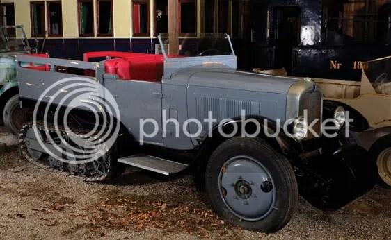 c. 1926 Citroën Kegresse Half-Track