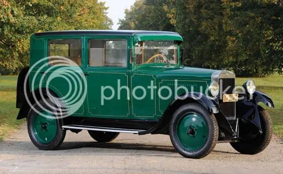 1925 Donnet Type G Saloon