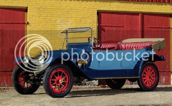 1914 Packard 2-38 Seven-Passenger Touring
