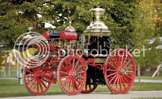 1894 Silsby Fourth Size Horse-Drawn Steam Pumper