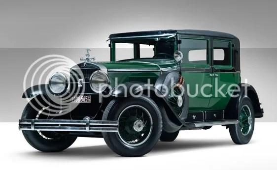 """1928 Cadillac Series 341-A V-8 """"Al Capone"""" Town Sedan"""