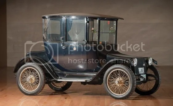1918 Detroit Electric Model 75B Brougham
