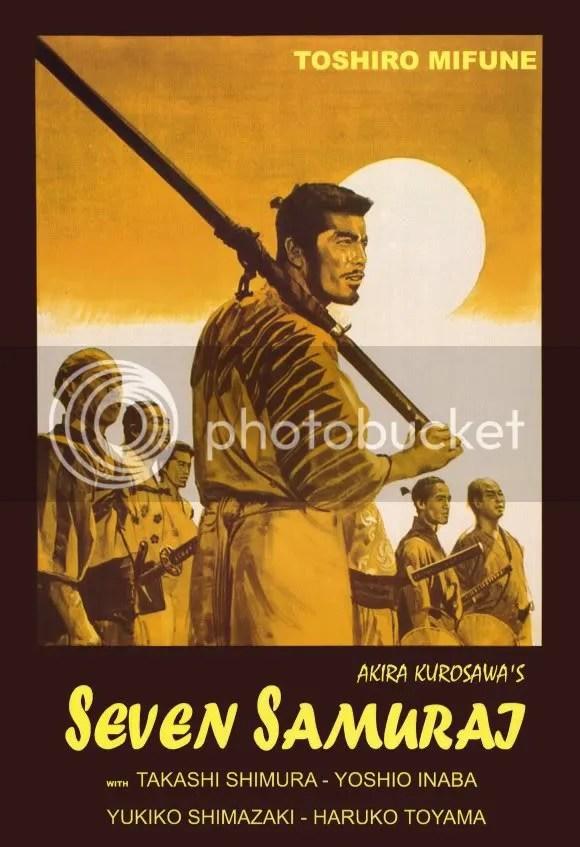 Analysing Seven Samurai (1954)  (1/3)