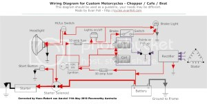Wiring Diagram For Custom Motorcycles