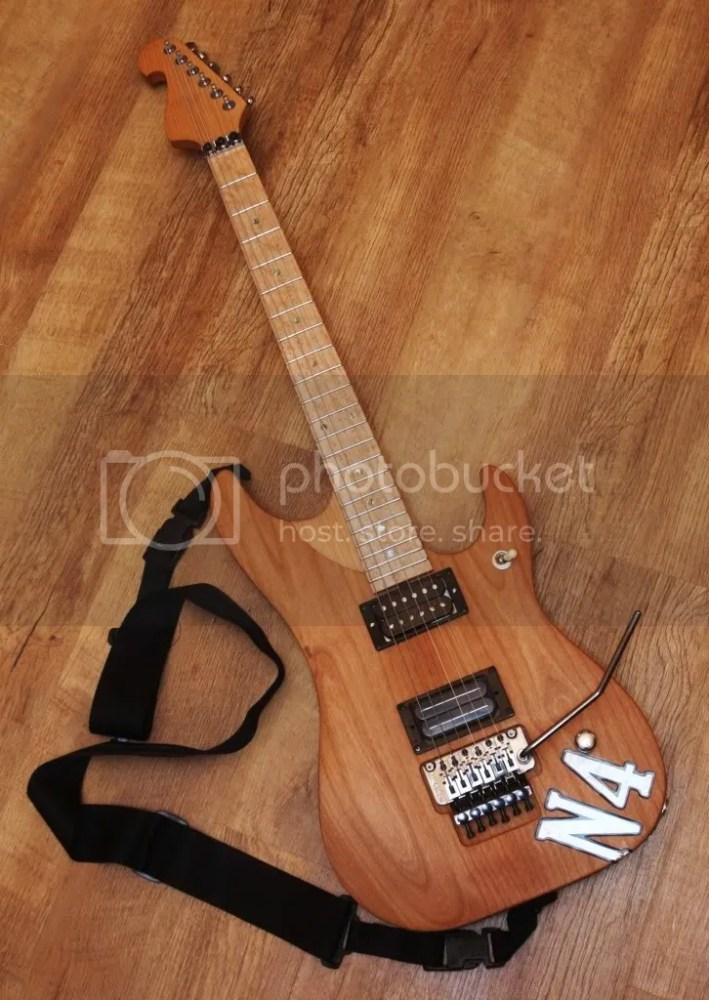 Nuno Bettencourt N4 custom build (1/6)