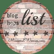 Missional Women Blog Hop List