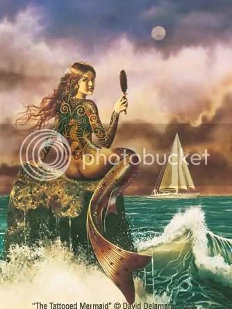 Body art fantasy tattoos - Artistic Picture