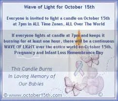 National Miscarriage and Infant Loss Awareness Month