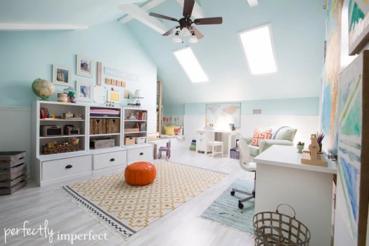 Playroom Homeschool Room Reveal Perfectly Imperfect