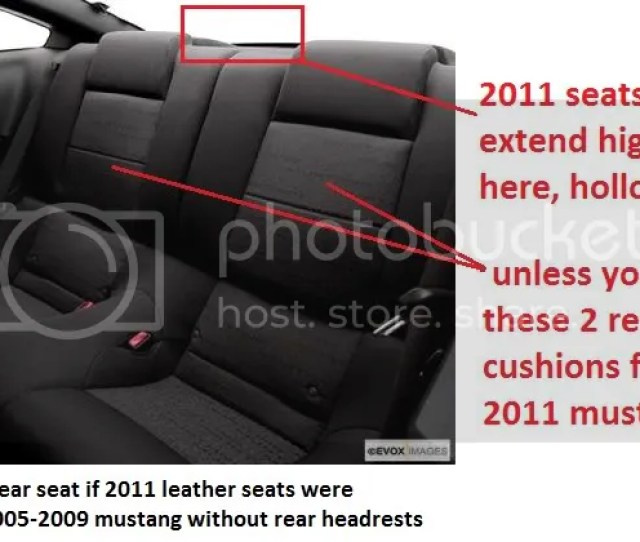 This Is A 2005 2009 Mustang With 2011 Mustang Seats