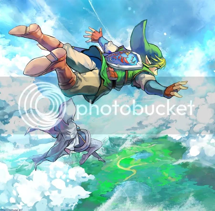 Resultado de imagen para zelda skyward sword paisajes
