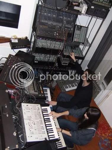 Xeno And Oaklander @ studio