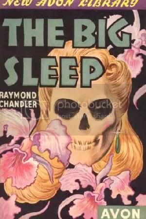 Big Sleep Vintage Book Cover