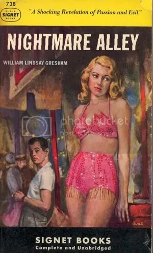 Nightmare Alley Vintage Book Cover