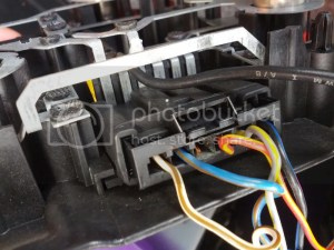Rear tail light wiring connector is burned  Bimmerfest