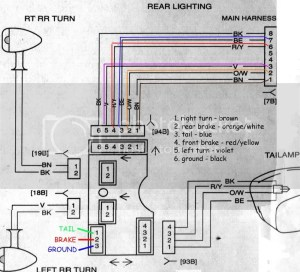Street Glide Brake Wiring Schematic  The HERD