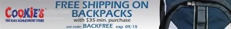 Free Shipping on Backpacks - $35 Min
