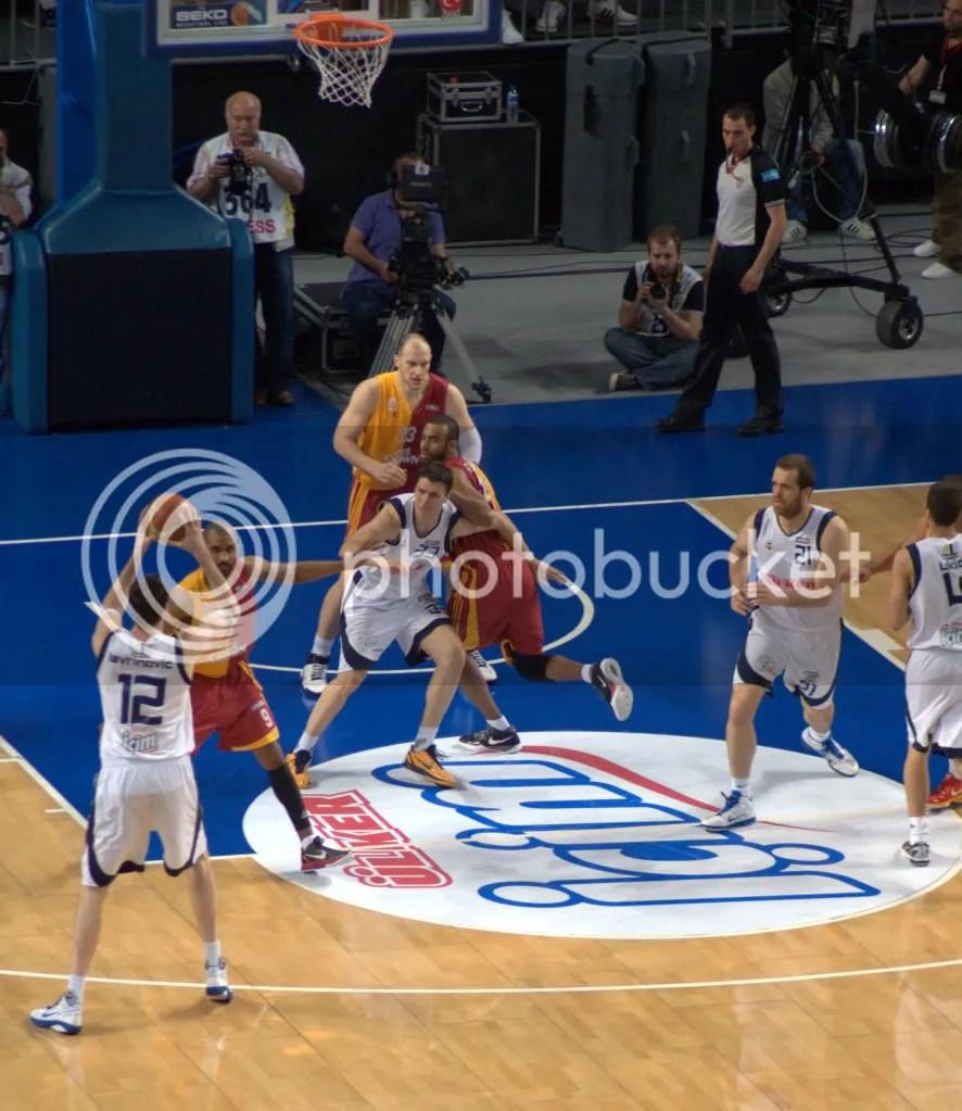Fenerbahçe Ülker - Galatasaray Cafe Crown (2010-11 Beko Basket Ligi Finali 1.Maç)