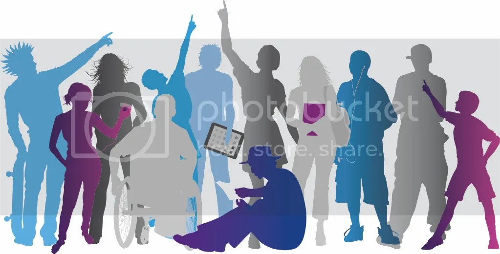 Image result for teens in library