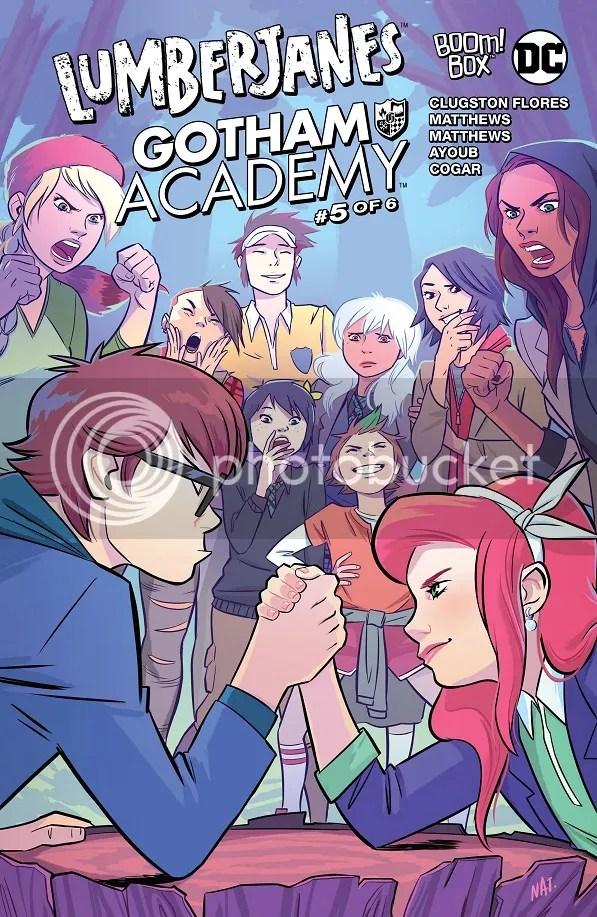 Lumberjanes/Gotham Academy #5