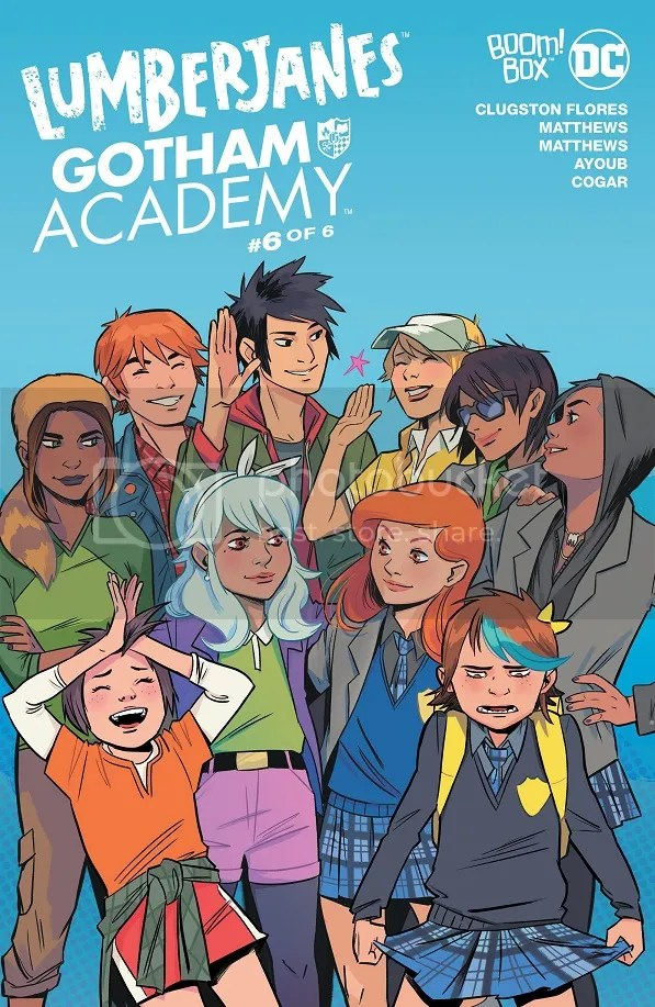 Lumberjanes/Gotham Academy #6