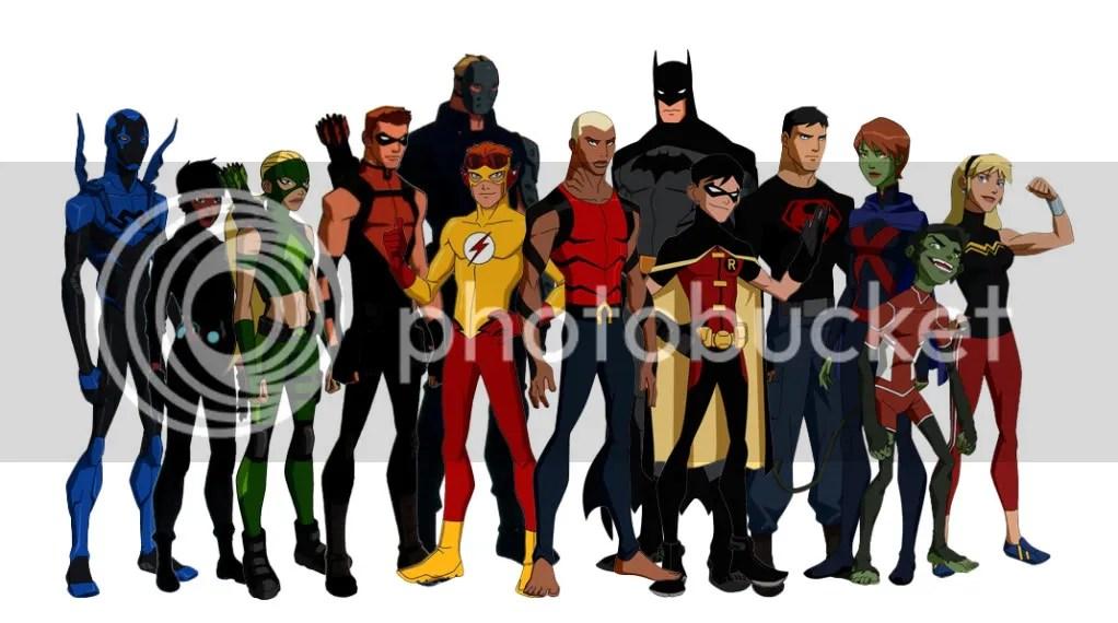 Batman has a ton of sidekicks now