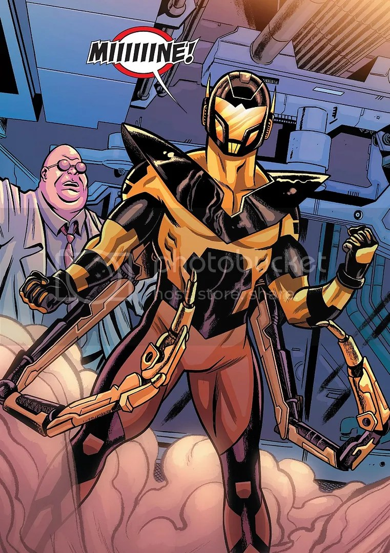 Darren Cross is resurrected and turned into Yellowjacket just in time for the Ant-Man comic to be cancelled