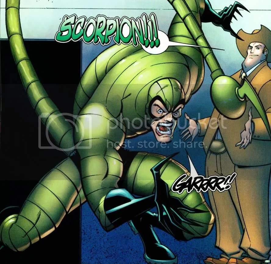 Forgotten Characters: Ultimate Scorpion | Henchman-4-Hire