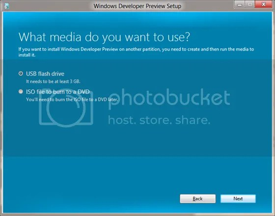 Windows 8 a instalar en memoria flash