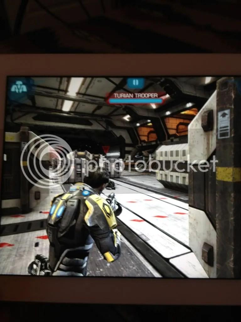 ¡Mass Effect: Infiltrator se ve hermoso en la Nueva iPad!