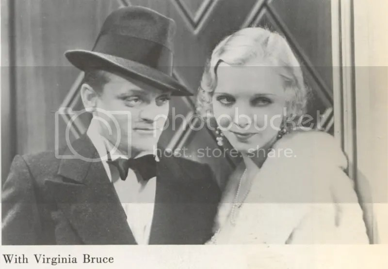 Cagney in one of his fake noses
