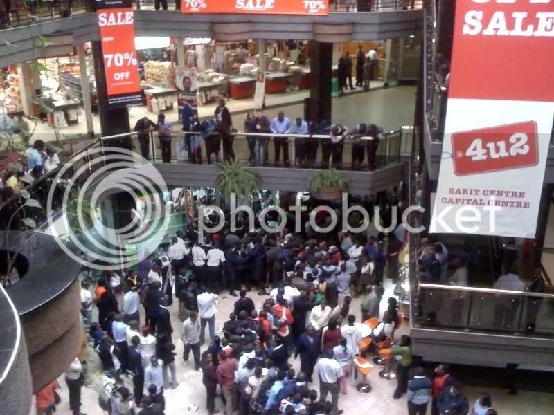 Nokia C3 Chaos at Sarit Centre... (3/4)