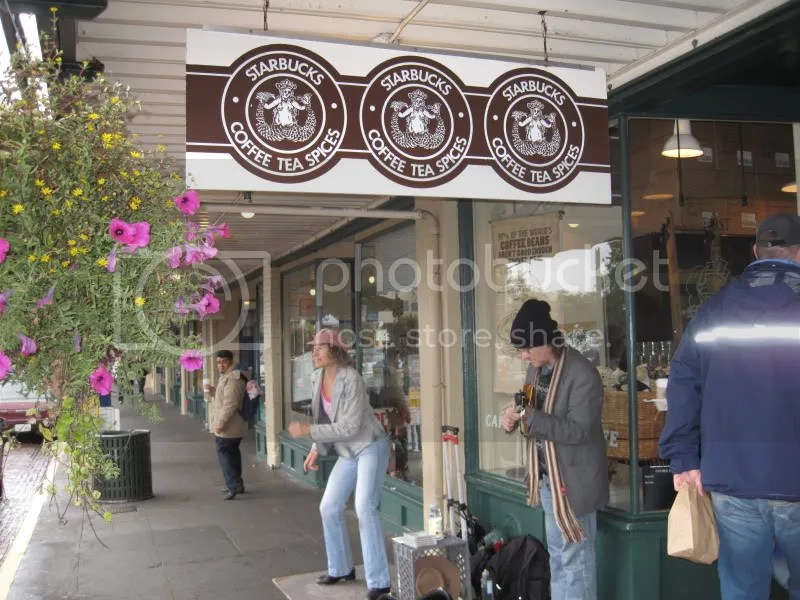 The first Starbucks!