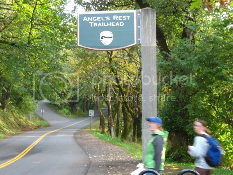 Blurry. . . but this is where we went Angels Rest. . . what a neat name.