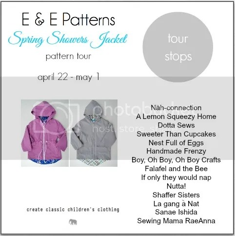 Spring Shower Jacket Tour