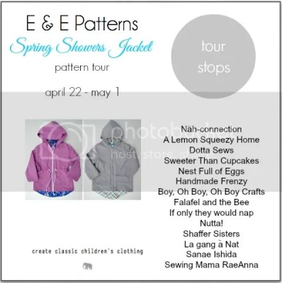 Spring Showers Jacket Pattern Review - Beatnik Kids