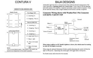 Help wiring light bar to Contura V switch  Toyota FJ