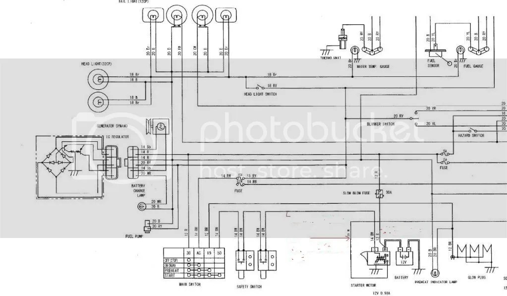 Kubota Tractor Radio Wiring. Kubota. Wiring Diagram Images